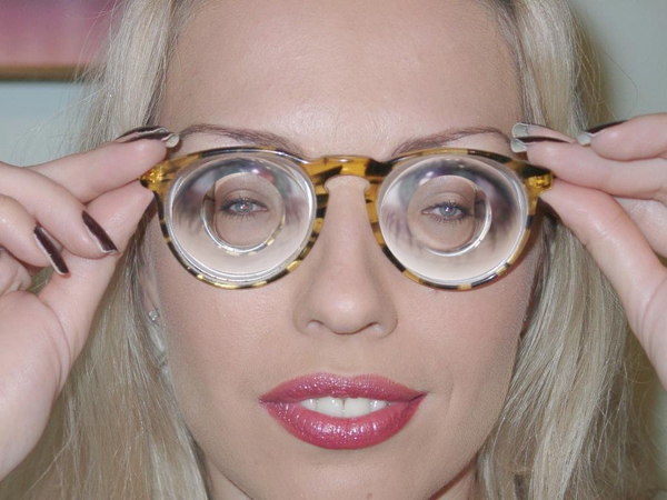 Girls With Thick Glasses